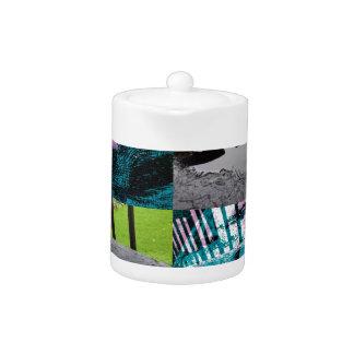 Rainwater Puddle Composite Design Teapot