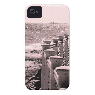 Rainy Beach Day iPhone 4 Cover