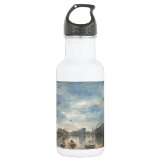 Rainy Blackpool Stainless Steel Water Bottle