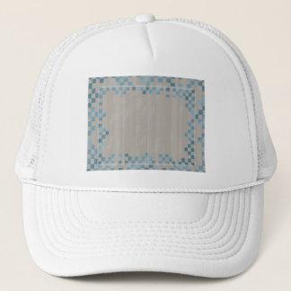 Rainy Checkers Trucker Hat