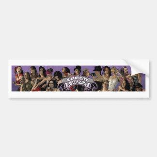 Rainy City Roller Girls Team Bumper Sticker