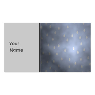 Rainy cloudy stormy sky. Gray and Blue. Business Card