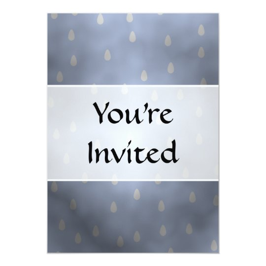 Rainy cloudy stormy sky. Gray and Blue. Card