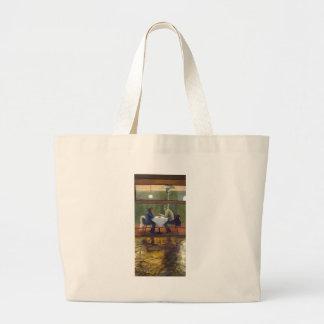 Rainy Date Canvas Bags