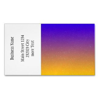 rainy day 14216 gradient 3 (I) Business Card Magnet