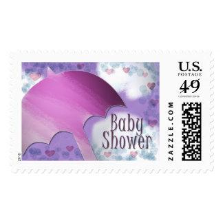 Rainy Day Baby Shower Postage