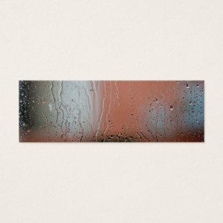 Rainy Day Bookmark Mini Business Card