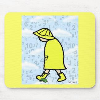 Rainy Day Boy Mousepad