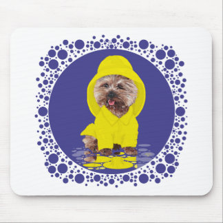 Rainy Day Cairn Terrier Mouse Pad