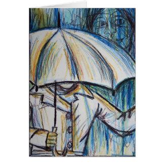rainy day card