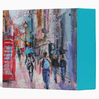 Rainy Day Carnaby Street Binder