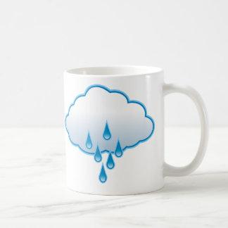 Rainy Day Classic White Coffee Mug