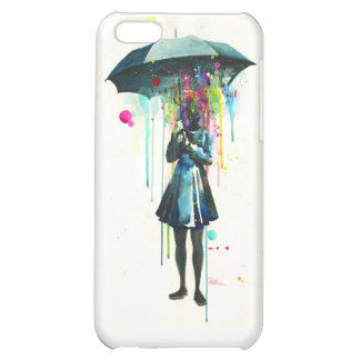 Rainy Day Colorful iPhone Case iPhone 5C Case