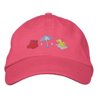 Rainy Day Embroidered Baseball Hat