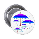 Rainy Day Feeling Pinback Button