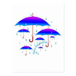 Rainy Day Feeling Post Cards