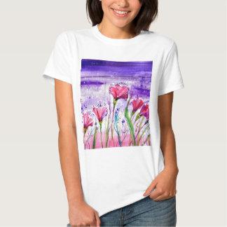 Rainy Day Flowers T-shirt