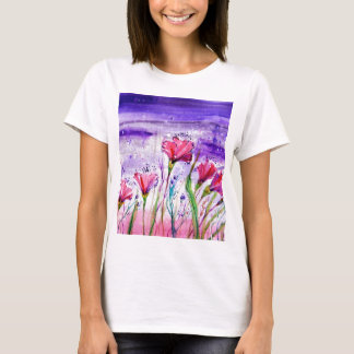 Rainy Day Flowers T-Shirt
