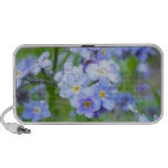 Rainy Day Forget Me Nots Notebook Speaker