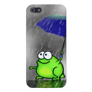 Rainy Day Frog Case For iPhone SE/5/5s