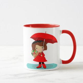 Rainy Day Girl Mug