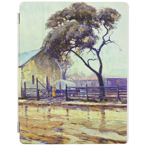 Rainy Day in Bandera by Julian Onderdonk iPad Smart Cover