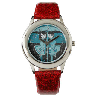Rainy Day in Blue Wristwatch