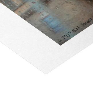 Rainy Day in Frankfurt 2015 Tissue Paper