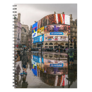 Rainy day in Piccadilly notebook