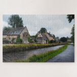 Rainy Day in the Cotswolds Challenging Jigsaw Puzzle