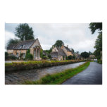Rainy Day in the Cotswolds Photo Print