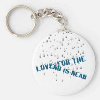 Rainy Day (Keychain) Basic Round Button Keychain