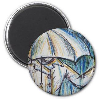 rainy day magnet