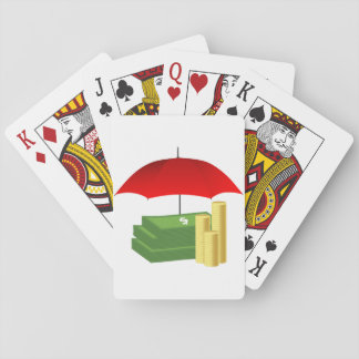 Rainy Day Money Playing Cards