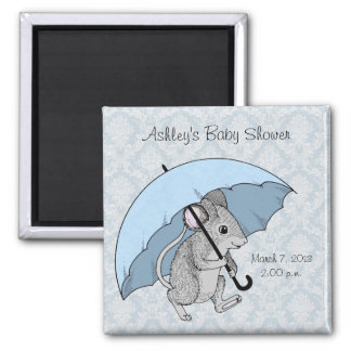Rainy Day Mouse Magnet