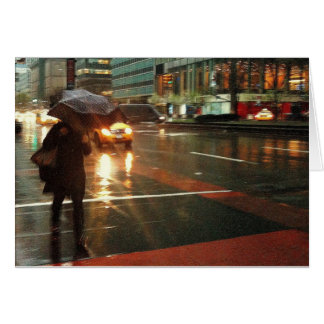 Rainy Day New York Card