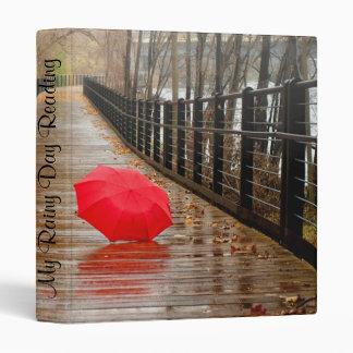 Rainy day on a Walkway Binder