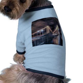 Rainy day on Chelsea Bridge, London Dog T-shirt