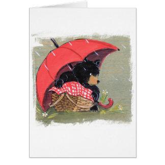 Rainy Day Picnic Card