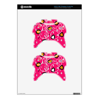 Rainy day - pink xbox 360 controller skins