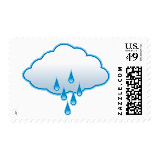 Rainy Day Postage Stamps