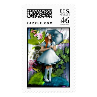 Rainy Day Postage Stamps stamp