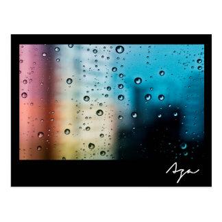 Rainy Day Post Card