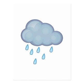 rainy day postcard