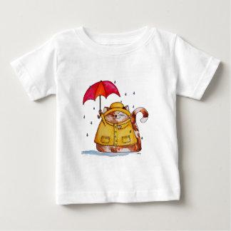 Rainy Day Puff Cat Baby T-Shirt