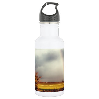 Rainy Day Rainbow 18oz Water Bottle