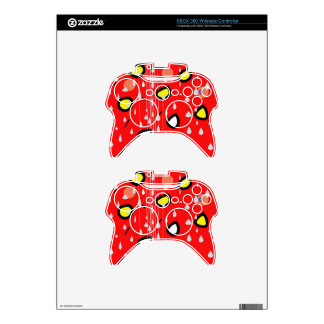 Rainy day - red xbox 360 controller skin