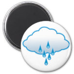 Rainy Day Refrigerator Magnet