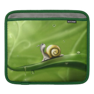 Rainy Day Snail Sleeves For iPads