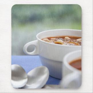 Rainy Day Soup Mouse Pad